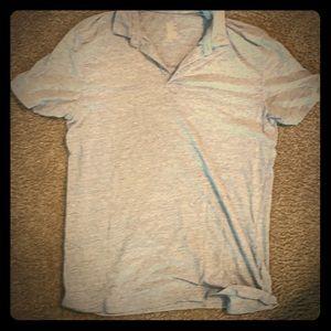 H&M grey/light blue shirt sleeve